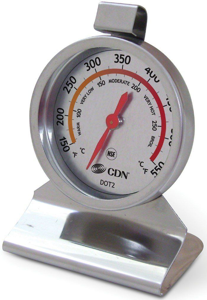 Amazon.com: CDN DOT2 ProAccurate Oven Thermometer NSF Certified: Kitchen  Thermometers: