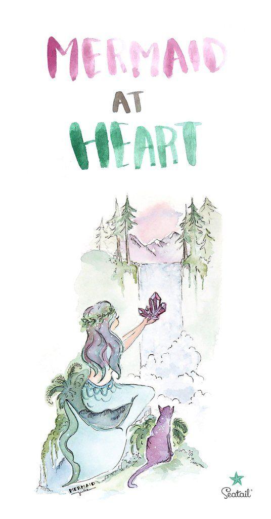 Mermaid At Heart Artwork