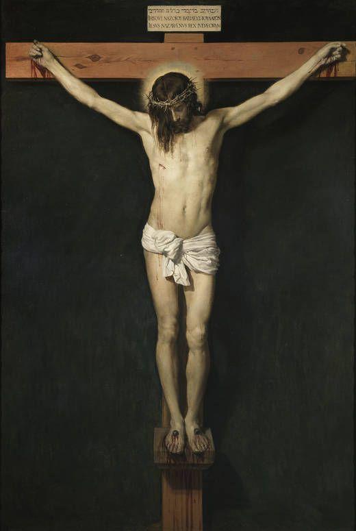 Cristo crucificado - Velázquez  Museo Nacional del Prado: Galería online