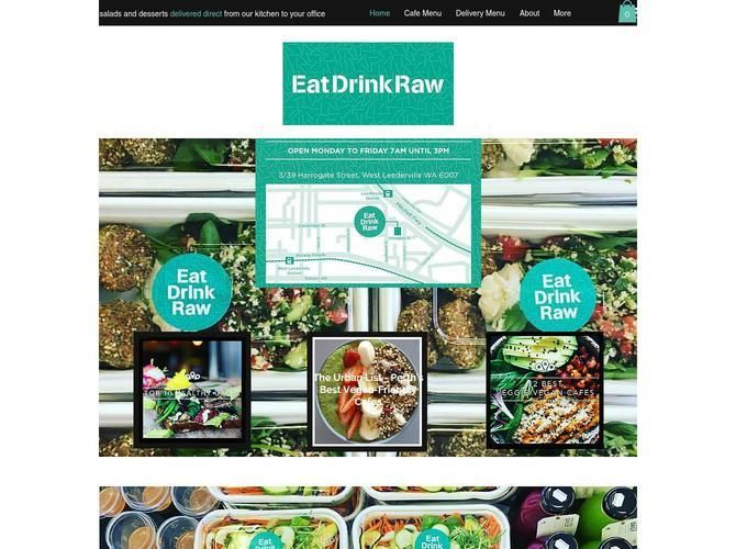 Eat Drink Raw - raw vegan food delivered in Perth, Western Australia and cafe in West Leederville.