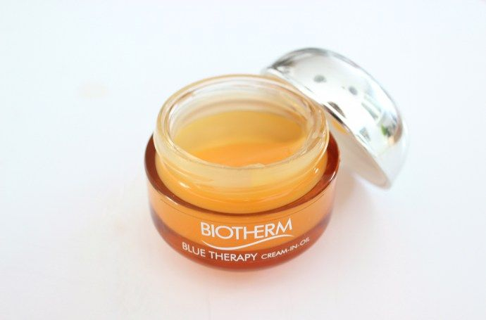 Product Review Biotherm Blue Therapy Cream In Oil Face Moisturizer Modexlusive Oil Face Moisturizer Face Moisturizer Biotherm Blue Therapy