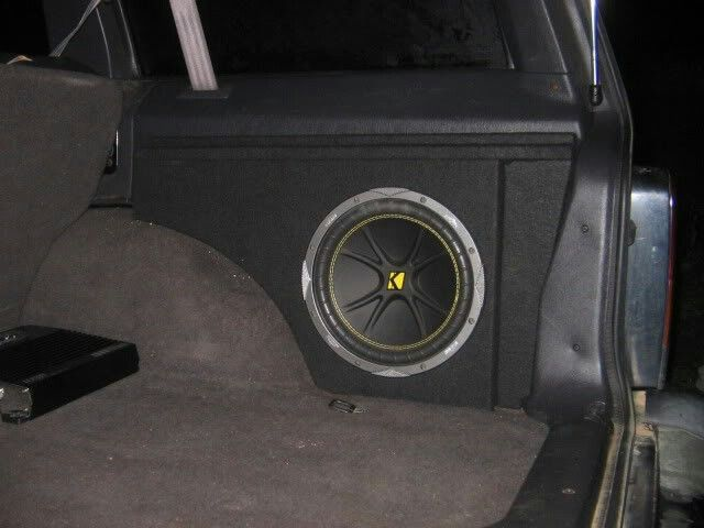 Nice jeep subwoofer box
