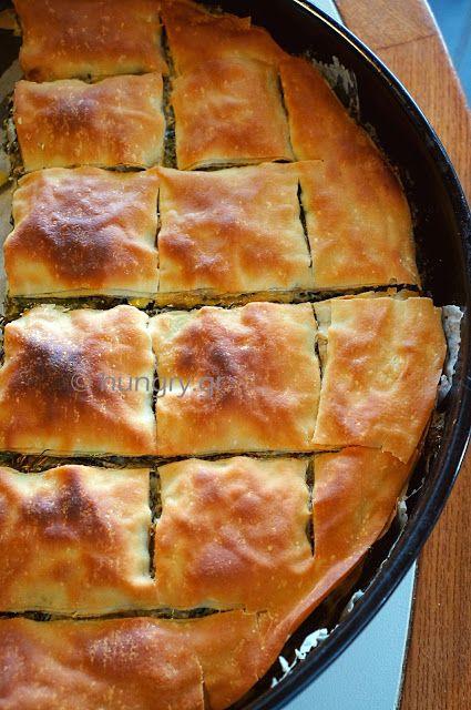 Kitchen Stori.es: Χορτόπιτα με Χωριάτικο Στρογγυλό Φύλλο