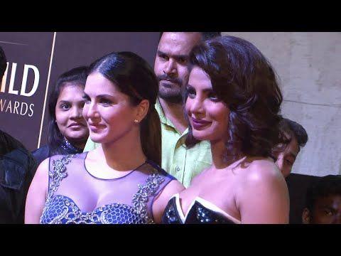 Priyanka Chopra & Sunny Leone Who is BEST?   Renault Guild Film Awards 2015.