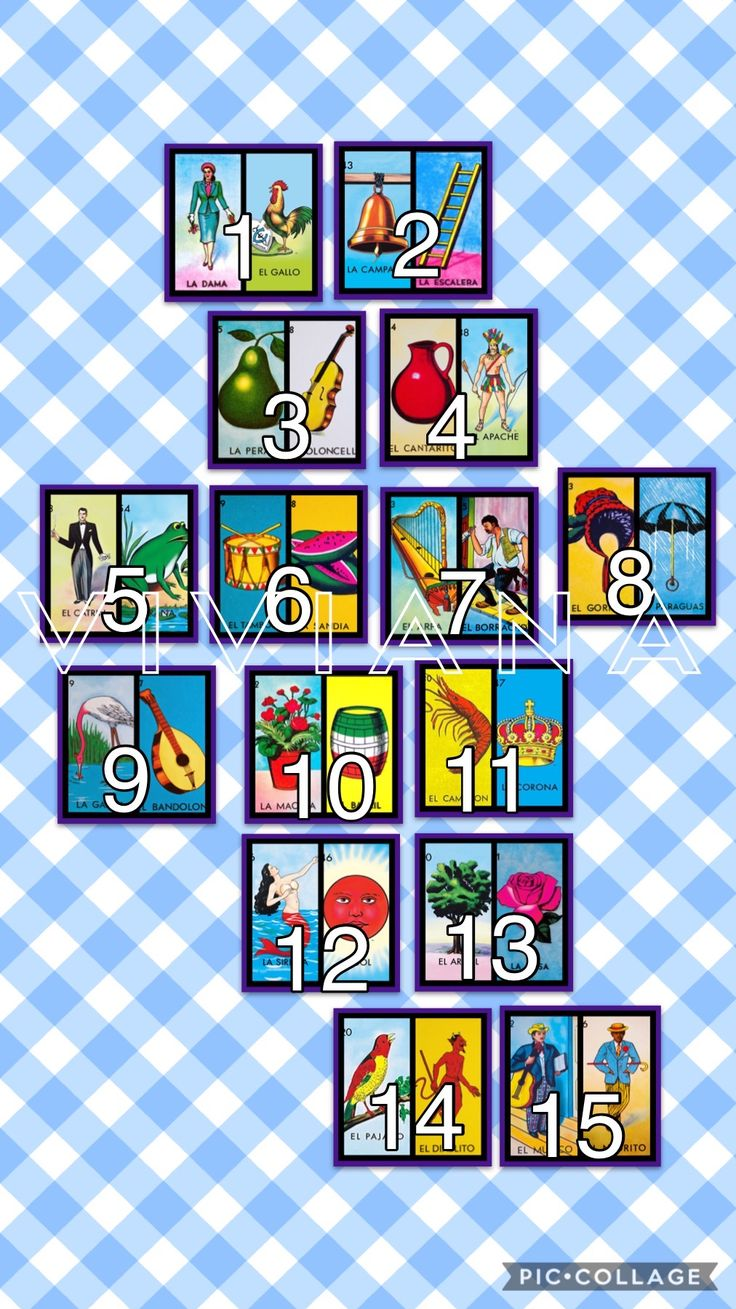 Pin by Dinah Hernandez on Lotera in 2020 Loteria cards