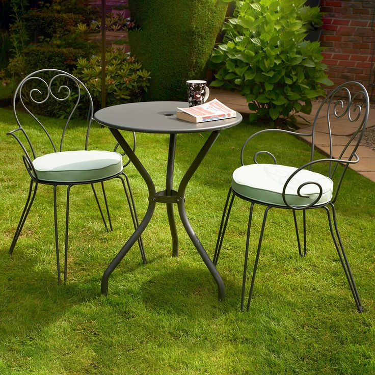 glendale odessa bistro set with 2 romantic chairs next day delivery glendale odessa bistro set - Garden Furniture Next Day Delivery