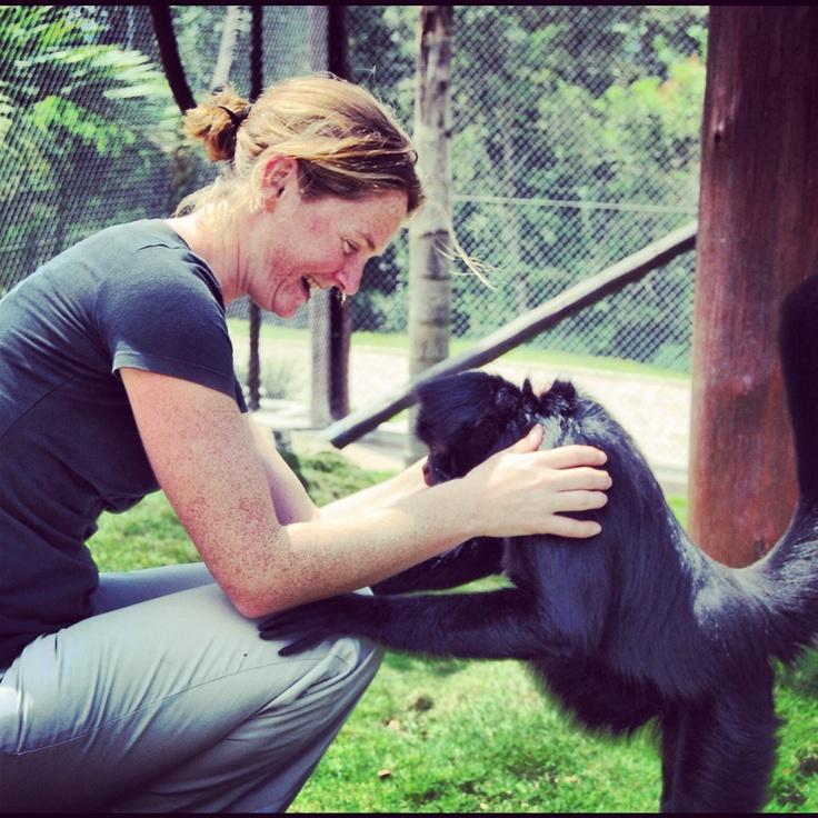 Staff member Lucy Watson in Brazil!