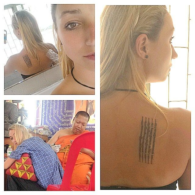 I read various different blogs and researched alot before I committed myself to getting a Sak Yant. But what is a Sak Yant? A Sak Yant is a religious Buddhist tattoo originating in Thailand and Mya…