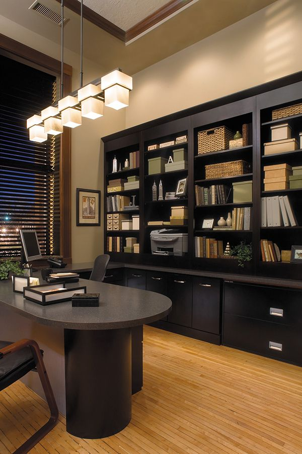 A Thoughtfully Designed Home Office Will Keep Chaos To A Minimum And Increase Productivity Click For More Hom In 2020 Home Contemporary Home Office Home Office Design