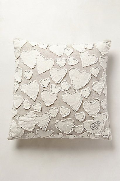 Heart Collector Pillow - anthropologie.com #anthrofave