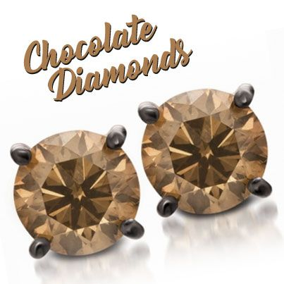 Chocolate is the best way to melt someone's heart! So let every day be #ChocolateDay! Life's sweeter with chocolate diamonds from Gems N' Loans. #pawnshopping #jewelry #silverandgold #webuygold