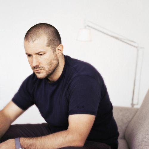 Ive. Chief Industrial design at Apple. Genius man.