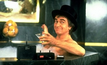 """Susan (Jill Eikenberry): """"A real woman could stop you from drinking."""" Arthur (Dudley Moore): """"It'd have to be a real BIG woman."""""""