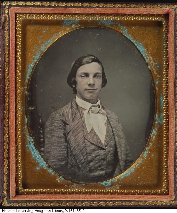 (1853, Aug. 4) Charles Chambers Cox, at 16 years old, before starting at the Ohio Wesleyan University at Delaware, OH