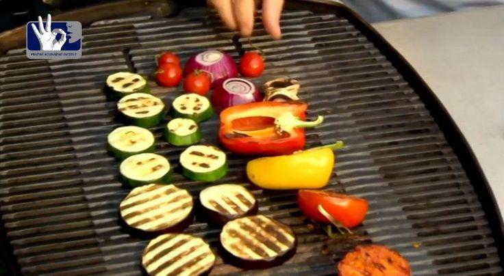Prakul kuchařky: Středomořská grilovaná zelenina