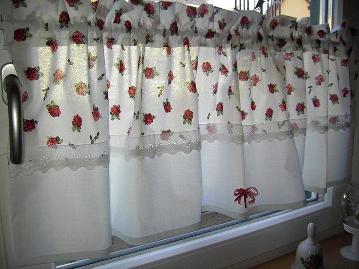 208 best Gardinen images on Pinterest Curtains, Window - küche gardinen landhausstil