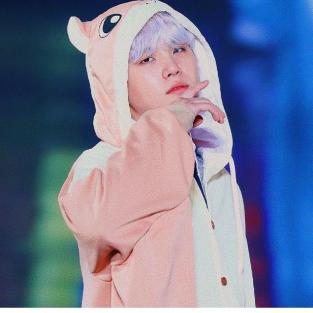 Yoongi in a flying squirrel onesie | Suga | BTS, Bts suga ...