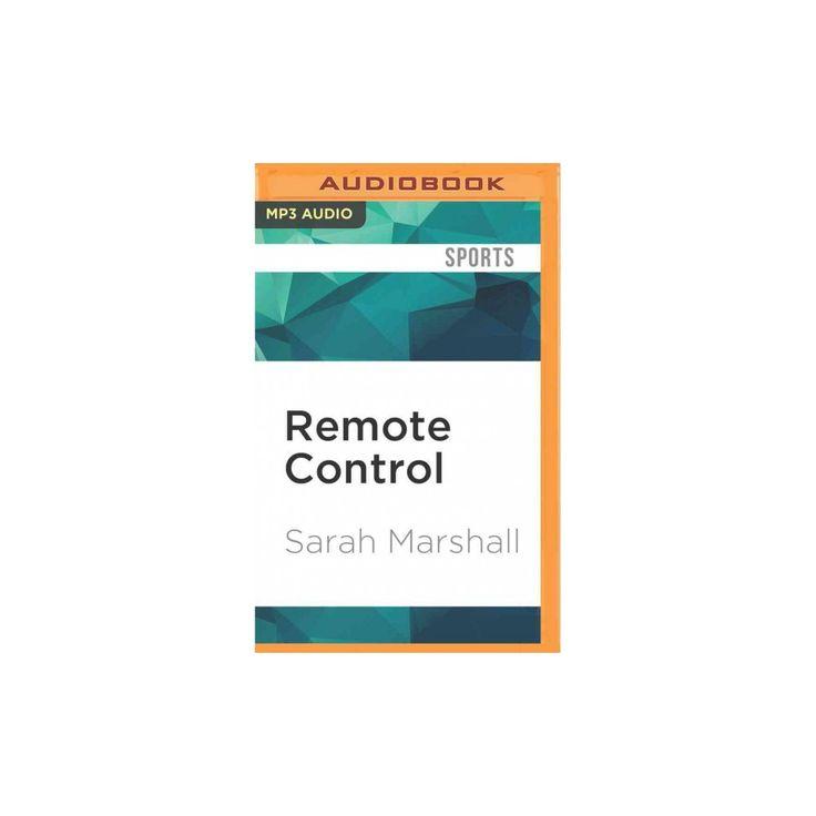 Remote Control (MP3-CD) (Sarah Marshall)