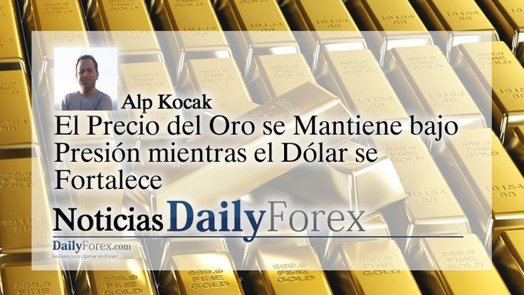El Precio del Oro se Mantiene bajo Presión mientras el Dólar se Fortalece   EspacioBit -  https://espaciobit.com.ve/main/2017/04/28/el-precio-del-oro-se-mantiene-bajo-presion-mientras-el-dolar-se-fortalece/ #Forex #DailyForex #Precio#Oro #Gold #USD