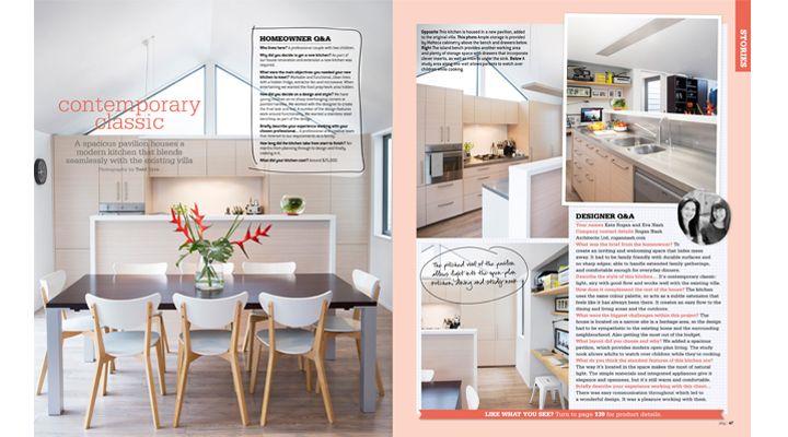 Your Home and Garden - NZ kitchen design