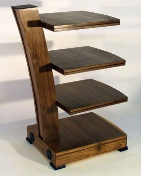 WalnutAudioVideo Stand - Reader's Gallery - Fine Woodworking