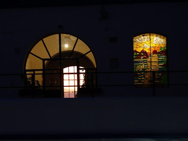 De noche. Edificio Crespo.
