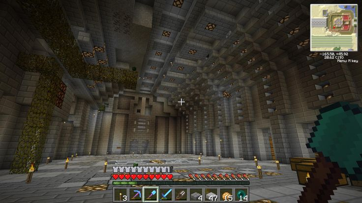 Minecraft underground house designs