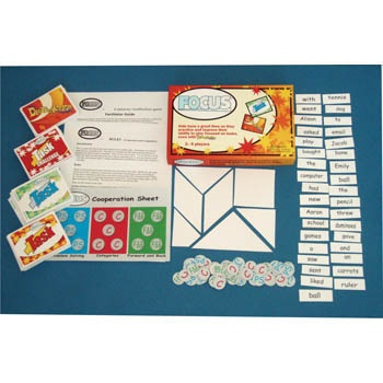 I have been wanting to buy this game.Focus Game. This fun game, suitable for grades 1-12, teaches kids to complete tasks while ignoring distractions. Different sets of cards are included based on grade levels.  Can't wait to get my hands on this game!