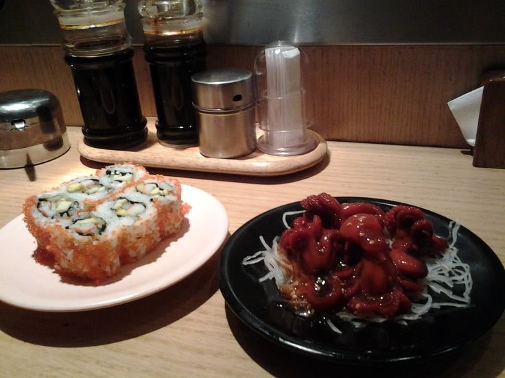 the most favourite restaurant.. Sushi Tei.. You can find it in every big mall in Indonesia esp Jakarta..