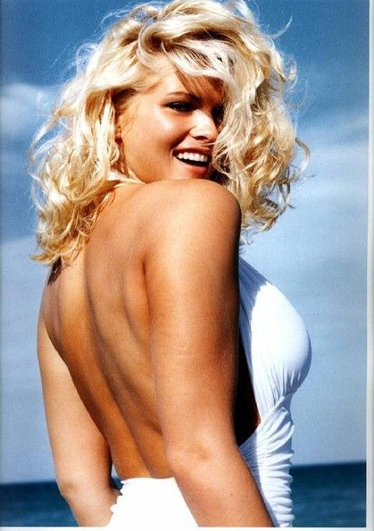 Those on! Anna nicole smith tan completely