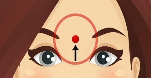 Πιέστε το Μέτωπό σας σε ΑΥΤΟ το σημείο για 60 Δευτερόλεπτα και Δείτε ΤΙ θα σας Συμβεί. Θα εκπλαγείτε!: http://biologikaorganikaproionta.com/health/240604/