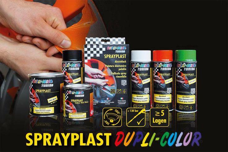 Vuoi cambiare spesso #Colore ai cerchi della tua Auto, Specchietti, Moto? Prova gli Spray a vernice plastica Removibile!
