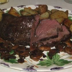 This three ingredient beef tenderloin dish will melt in your mouth.  We've had it for both of our Christmas dinners this year (2 families) and got RAVE reviews from everyone.  Hard to believe it's so easy to prepare!