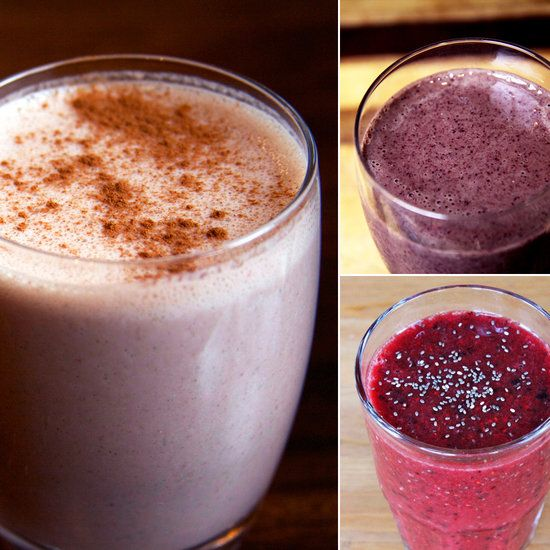 Breakfast Time! 7 Days of Smoothies Need a quick meal that's easy to make, full of healthy ingredients, and also tastes delicious? Solve this tall order by whipping up a fruit smoothie. Here are seven different recipes you can enjoy every day of the week.
