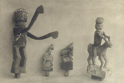 Samples of grave figurines
