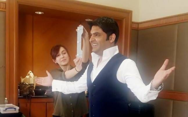 Kapil's Wax Statue placed at Madame Tussauds