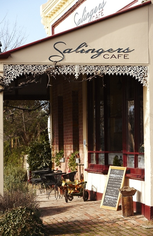 Salingers Cafe now has accommodation as well. The original homestead is located to the side of the cafe and can sleep up to 6 couples.