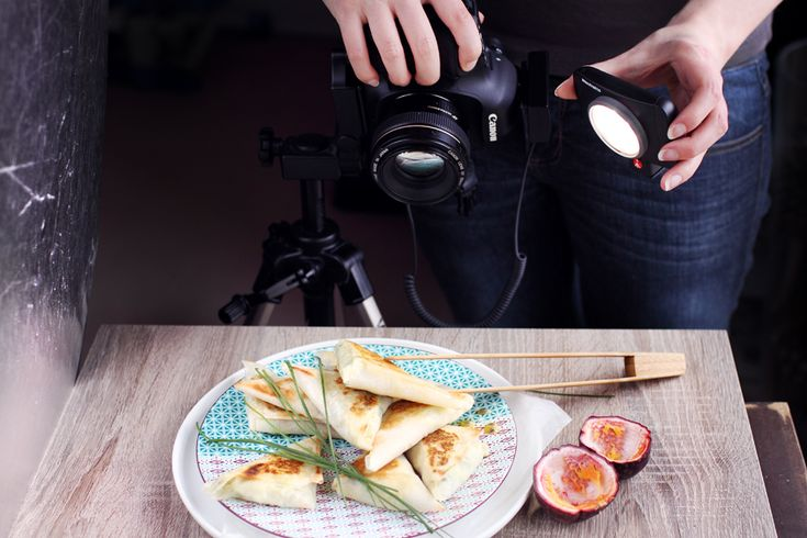 Lumie LED lights in food photography