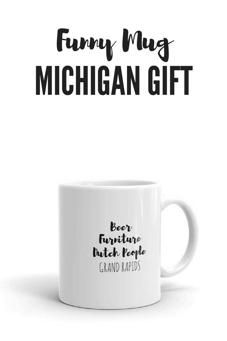 Looking for a funny mug gift for a friend or family member?  Hildalea.com offers a variety of  state coffee mugs based on cities and states.   Want a mug for a place that isn't in our shop, yet?  Contact me through Etsy and I'll make a custom mug just for you!