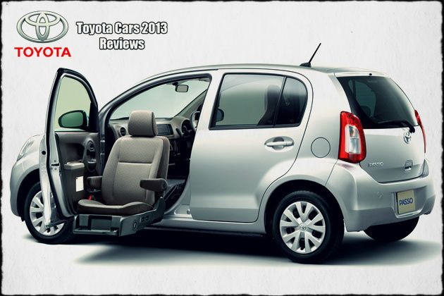 2015 Toyota Passo side view