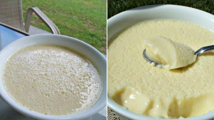 Vanilkový krémový dezert z niekoľkých ingrediencií! Báječná chuť a ľahká príprava!