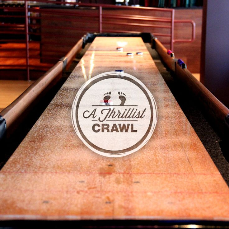 Every stop on this pub crawl has a bar game, from bocce ...