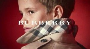 Must see VIDEO!  Romeo Beckham In The New Burberry…..