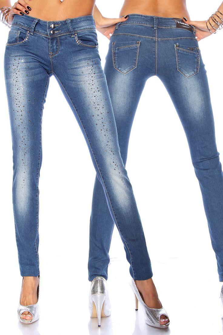 97 besten strass jeans bilder auf pinterest diy jeans. Black Bedroom Furniture Sets. Home Design Ideas
