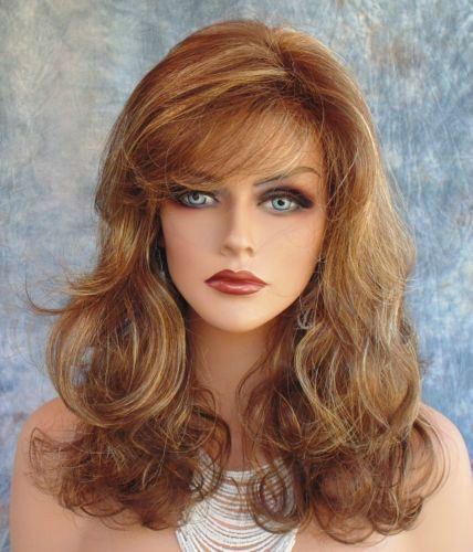 Hot Sell Fashion wig New Charm Women's Long Brown Mix Blonde Full wigs #New #FullWig