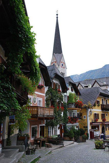 Hallstatt, Austria #worldtraveler