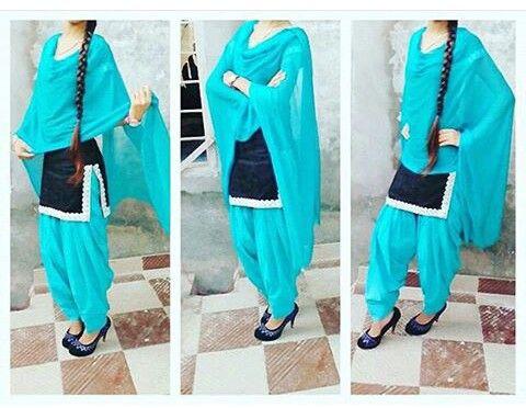 nice black nd sky blue suit...&&&