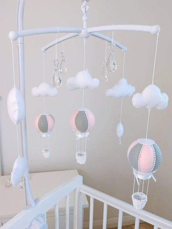 58790c8a7be Musical Cot Baby Girl Mobile