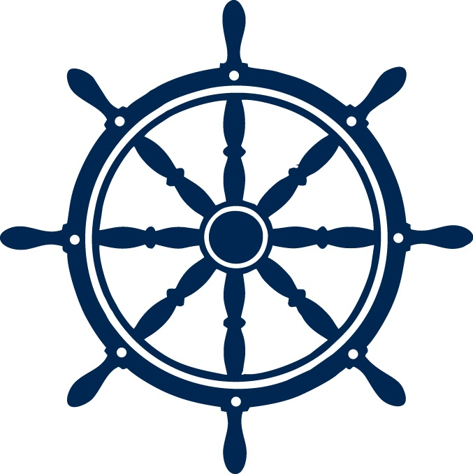 The helm (boat wheel) in our logo | Our Products | Boat ...