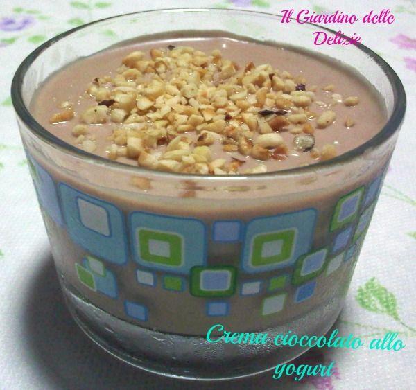 Crema cioccolato allo yogurt